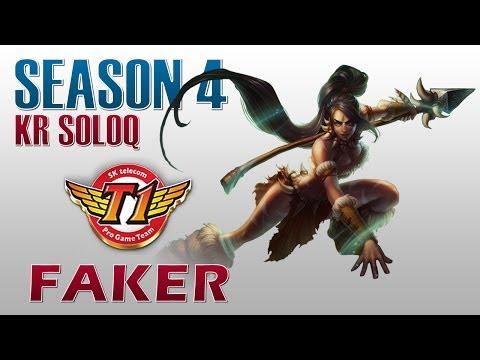 SKT T1 Faker - Nidalee vs Yasuo - KR SoloQ