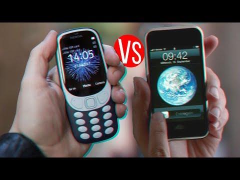 СРАВНЕНИЕ iPHONE 2G VS NOKIA 3310!