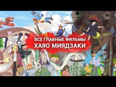 Все главные фильмы Хаяо Миядзаки
