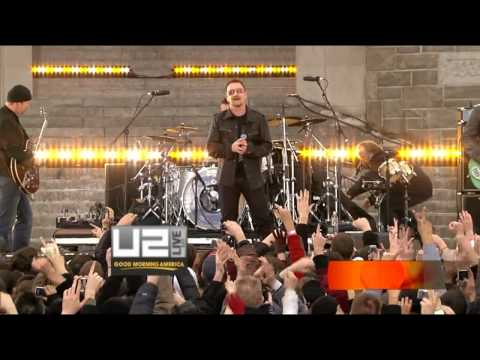 U2 - I'll Go Crazy If I Don't Go Crazy Tonight Live Fordham University [HD - High Quality]
