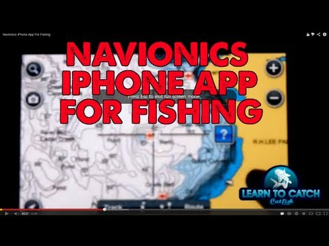 Navionics iPhone App For Fishing