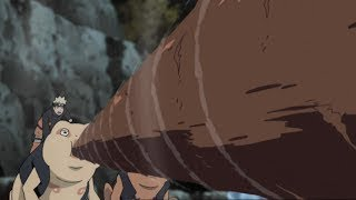 Naruto vs Isobu (Three Tails)