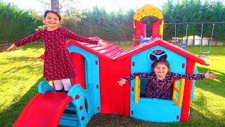 Cumartesi Günü 2 Çocuk ile 24 Saat -  24 Hours with 2 Kids on Saturday Funny Kids Video