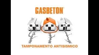 GASBETON - Tamponamento Antisismico 1/4 - Realizzazioni irrigidimenti verticali