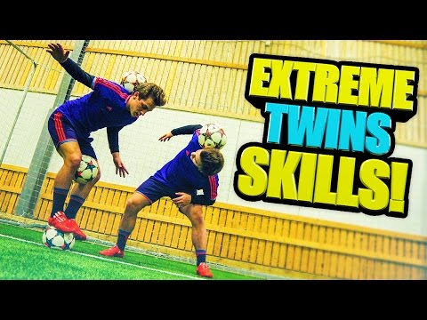 SkillTwins EXTREME Football/Freestyle Skills! ★