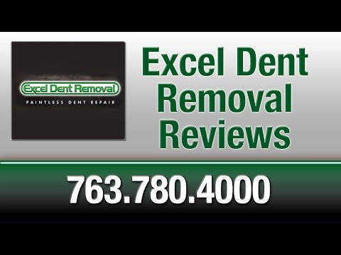Excel Dent Removal Reviews - Blaine MN Paintless Dent Repair