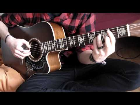 Sappy (sad version) - Nirvana - acoustic guitar fingerstyle arrangement
