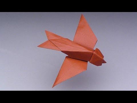 Robert Lang teaches Origami: Swallow - IMA