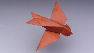Robert Lang Teaches Origami:  Swallow - Ima