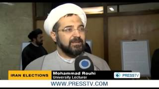 Survey  High turnout expected in Iran elections