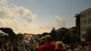 TigerNet: Totality... Clemson eclipse from the library