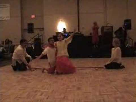 Children's Tinikling - Slow And Fast video