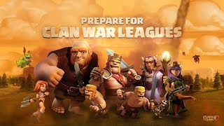 CLAN WAR LEAGUES, CLASH OF CLANS NEW UPDATE