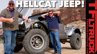 So Cool it Hurts! This is What Happens When You Put a Hellcat Hemi Into a Classic 1968 M-715 Jeep
