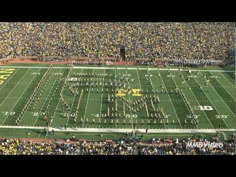 """Willy Wonka"" - November 10, 2012 (Michigan Marching Band)"