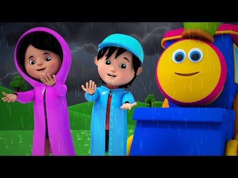 Bob The Train - bob the train | i hear thunder | nursery rhyme | 3d rhymes | kids songs | kids tv