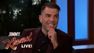 Zachary Quinto on Stealing Spock Ears, Leonard Nimoy & New Show