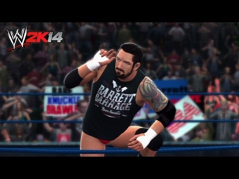 Wade Barrett enters as The Miz - WWE 2K14 Mash-up!