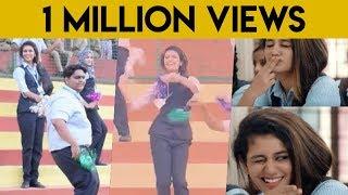 Oru Adaar Love Malayalam Movie Location Dance Video , Priya Varrier , Noorin