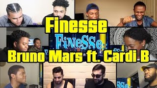 Download Lagu Bruno Mars and Cardi B - Finesse REACTIONS MASHUP Gratis STAFABAND