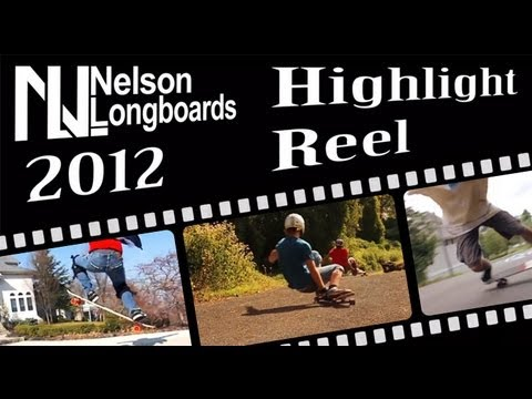 Nelson Longboards 2012 Highlight Reel