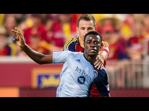 HIGHLIGHTS: Real Salt Lake vs Sporting Kansas City | July 20, 2013