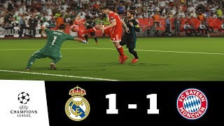 Real Madrid vs Bayern Munich All Goals Extended Highlights 1080p HD| UEFA CL | PES 2018