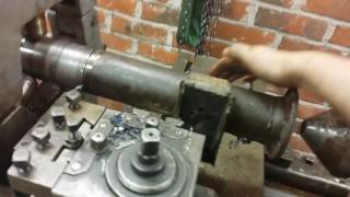 Shortening a Ford rear axle