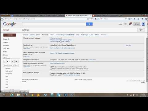 How to change google password in your google account