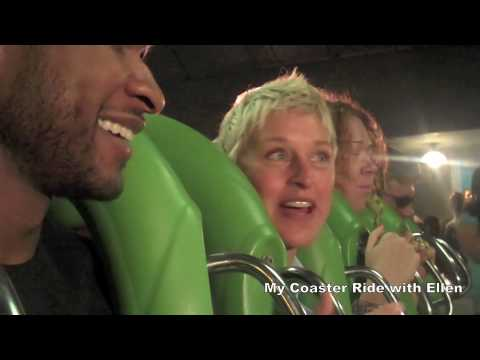 Usher & Ellen take on the Hulk