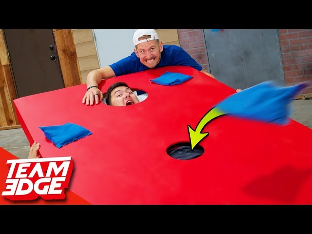 Extreme Corn Hole! | Below the Belt Edition!! thumbnail