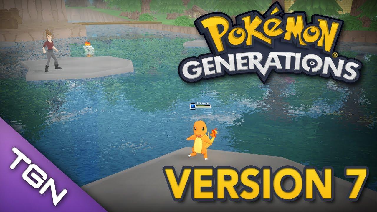 pokemon generations version 7 update youtube. Black Bedroom Furniture Sets. Home Design Ideas