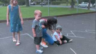 Chalk Games for Kids!  Hopscotch and lots of fun ideas to play!