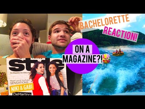 I'M ON A MAGAZINE?! Bachelorette Season Finale REACTIONS + at the lake!