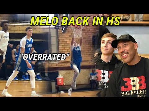 "LaMelo Ball Dominates In FIRST HIGH SCHOOL GAME For Spire! Crowd GOES OFF Chanting ""OVERRATED"" 😱"