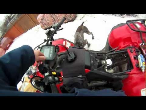 Honda TRX 350 New Carb Install