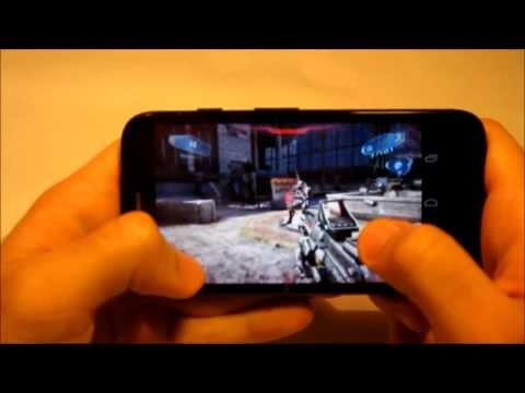 Motorola Moto G - Juegos:  N.O.V.A 3 (NOVA 3) Test IN GAME  [HD]