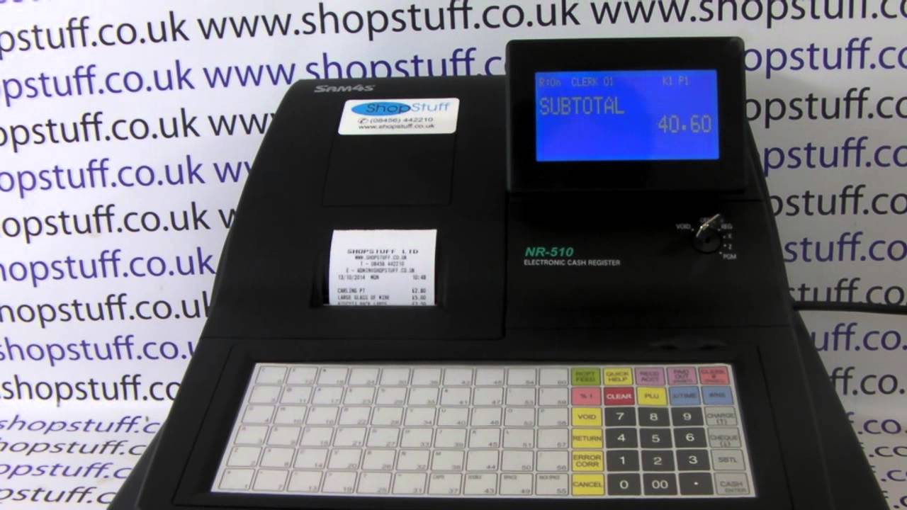 how to use woolworths cash register