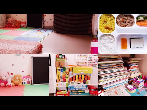 Vlog Diml kids room organising in telugu #Kidsroom in telugu || Lemon rice recipe