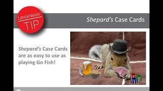 Shepard's Case Cards
