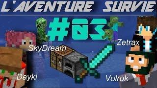 Download Lagu [Minecraft] L'AVENTURE SURVIE ! #03 - La Maison ! Gratis STAFABAND