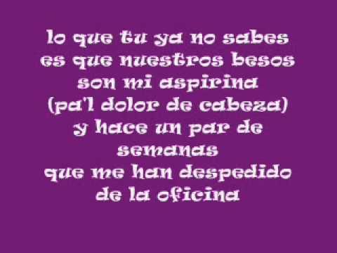 El Besito Pasabordo-Reykon (Letra)