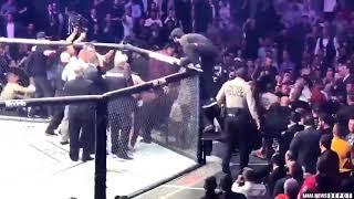 UNSEEN! Conor McGregor Attacks Khabib's Corner Man at UFC 229