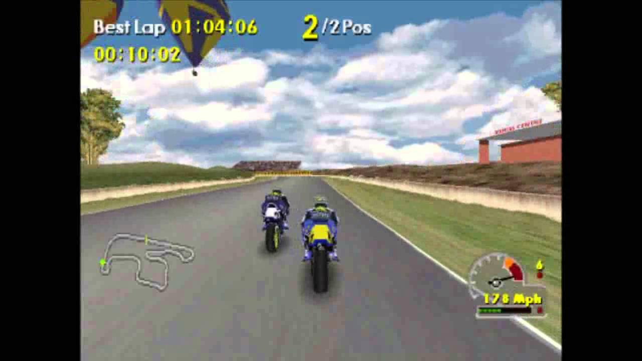 PS1 (ePSXe emulator) Moto Racer World Tour best laps - YouTube
