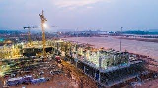 Quá trình xây dựng Sân bay Vân Đồn
