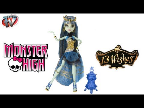 Monster High 13 Wishes Haunt The Casbah Frankie Stein Doll Toy Review. Mattel