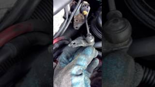 Saab 9-3 2000 Transmission Shift Cable Grommet Connector - No Shift or Loose Shifter Fix (Part 2)