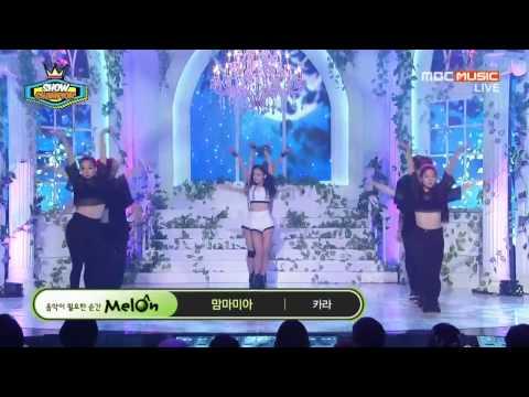 140820 KARA - So Good + Mamma Mia (Show Champion - Comeback...