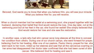 Joseph Prince 5 15 Believe First And Then You Will See 6 2 2014 AVI