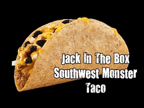 Monster Taco Jack in the Box